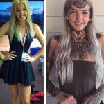 Αυτή η 23χρονη έχει ξοδέψει 10.000 δολάρια για τατουάζ