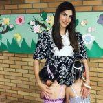 Έτσι χάνει τα κιλά της εγκυμοσύνης η Σταματίνα Τσιμτσιλή