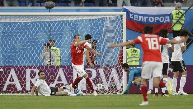 Η Ρωσία τη βέβαιη πρόκριση, 3-1 την Αίγυπτο