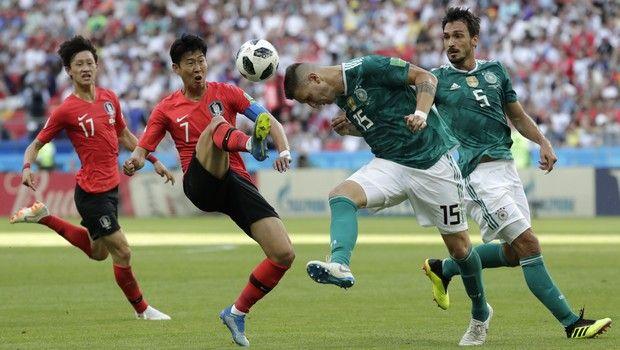 Η Νότια Κορέα πέταξε εκτός συνέχειας τη Γερμανία