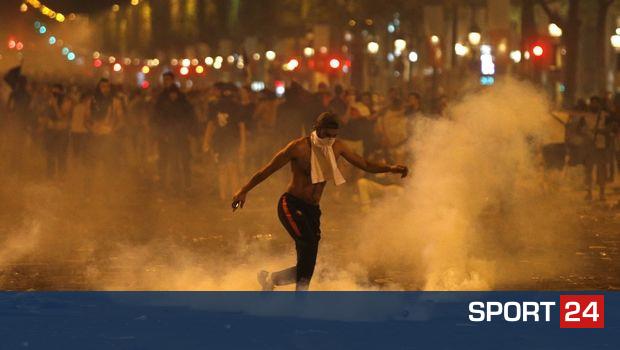 Πανηγυρισμοί με ξύλο στο Παρίσι, δύο νεκροί σε τροχαία (VIDEO)