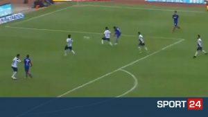 Δύο τακουνάκια, μία ποδιά και ένα φανταστικό γκολ για την Κρους Αζούλ (VIDEO)