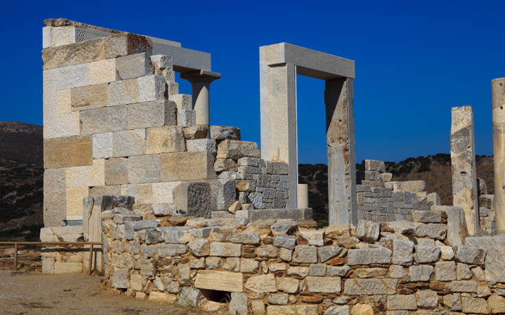 Αρχαιολογικό παρελθόν και εικαστική δημιουργία στο Σαγκρί της Νάξου