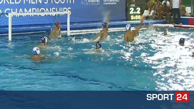 Παγκόσμιοι πρωταθλητές οι Έφηβοι, 9-8 την Ισπανία