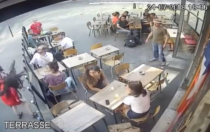 Συνελήφθη ο άνδρας που χαστούκισε μια γυναίκα σε δρόμο του Παρισιού