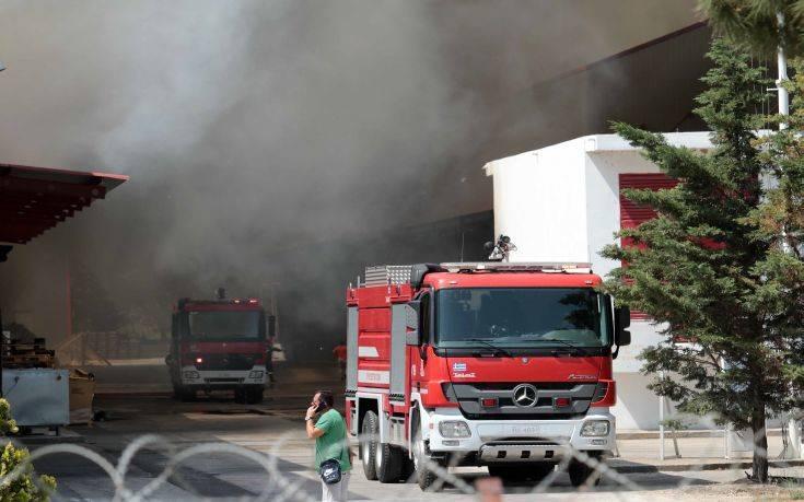 «Κανένας λόγος ανησυχίας» για τη φωτιά σε εταιρεία ανακύκλωσης στη Σίνδο