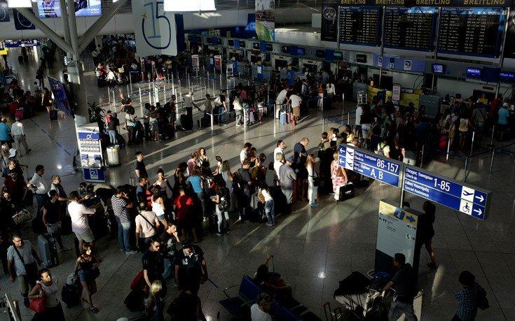 Σχεδόν 45 εκατομμύρια επιβάτες τον Αύγουστο στα ελληνικά αεροδρόμια