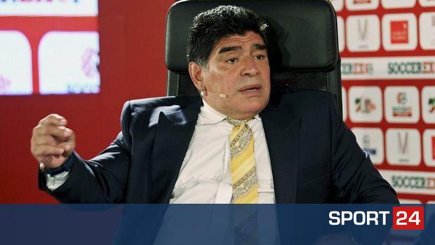 Προπονητής σε ομάδα 2ης κατηγορίας του Μεξικού ο Μαραντόνα