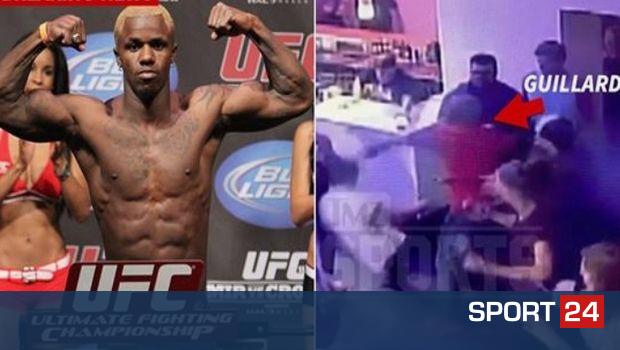 """Τρομακτικό περιστατικό, με μαχητή του UFC να """"ξαπλώνει"""" τρεις ανθρώπους με γροθιές"""
