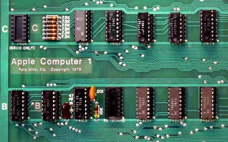 Πόσο κοστίζει σήμερα ένας «αρχαίος» υπολογιστής Apple-1
