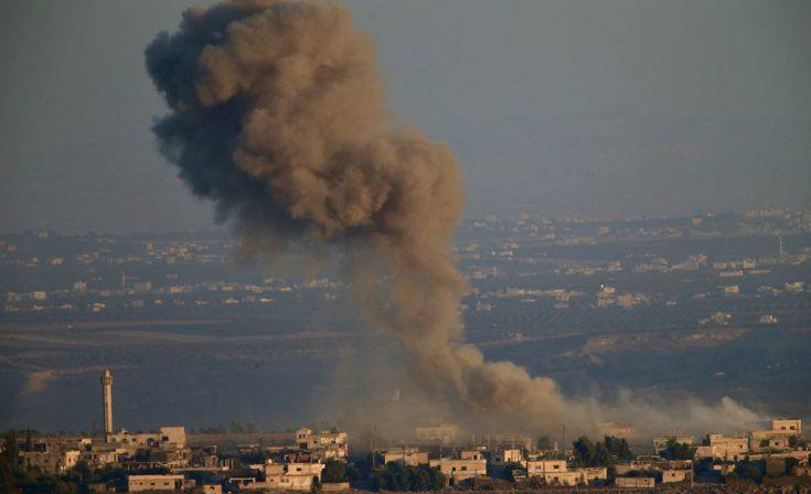 Ο Ισραηλινός στρατός επιβεβαίωσε πως έχει χτυπήσει στρατιωτικούς στόχους στη Συρία