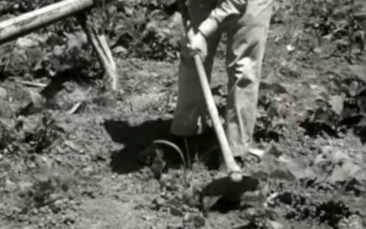 Ο άνθρωπος που κατασκεύαζε δρόμο με τα χέρια σε καιρό πολέμου διηγείται