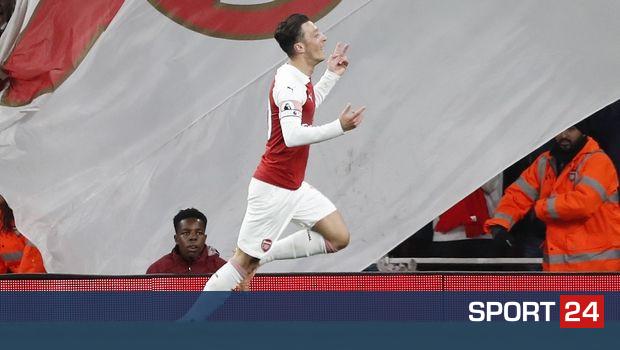 Άρσεναλ - Λέστερ 3-1: Ανατροπή και νίκη για τους Λονδρέζους με φοβερό Εζίλ