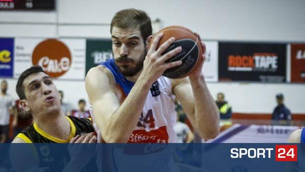 FIBA Europe Cup: Ήττα για την Τσμόκι Μινσκ του Σαρικόπουλου