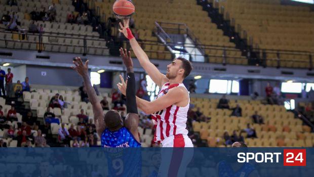 Ολυμπιακός – Χολαργός 88-78: Ο Μιλουτίνοβ δεν είχε αντίπαλο