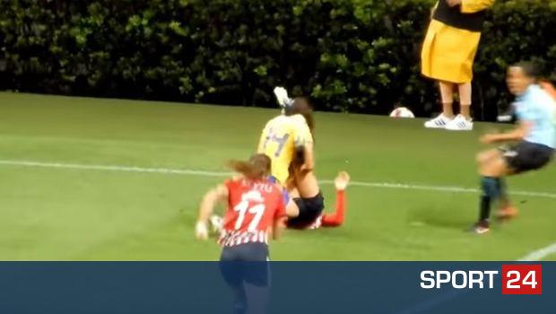Γυναικείο πρωτάθλημα στο Μεξικό: Ξύλο ανάμεσα στις παίκτριες και τέσσερις κόκκινες (VIDEOS)