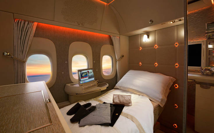 Emirates First Class Suites 1