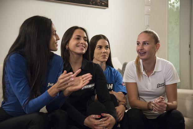 Γυναικεία υπόθεση: Οι αθλήτριες που στηρίζει η Stoiximan είδαν ΑΕΚ - Μπάγερν στο σπίτι μας