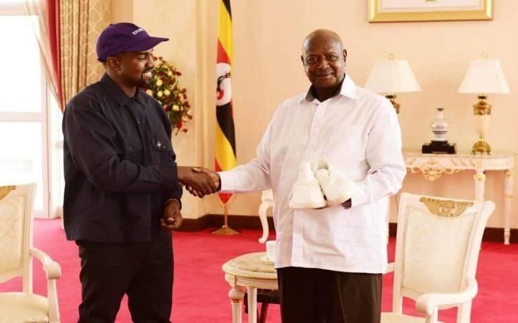 Το ιδιαίτερο δώρο του Κάνιε Ουέστ και της Κιμ Καρντάσιαν στον πρόεδρο της Ουγκάντα