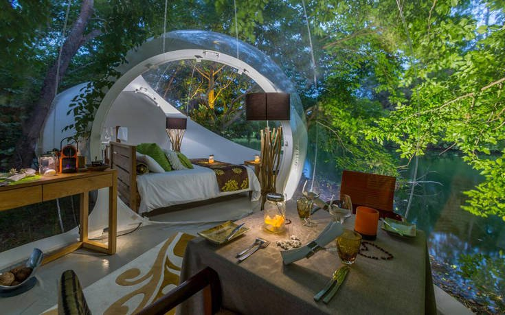 Οκτώ από τα πιο εντυπωσιακά ξενοδοχεία-φούσκες στον κόσμο