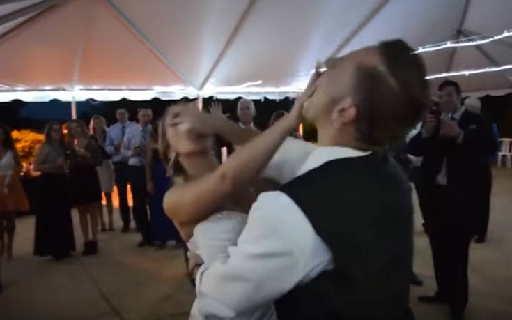 Γαμπρός ήθελε να κάνει πλάκα στη νύφη και την γκρέμισε