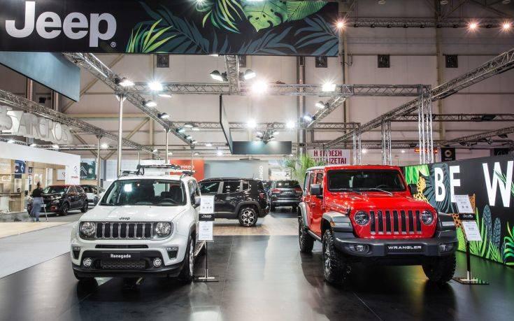 Η Jeep στην «Αυτοκίνηση 2018»