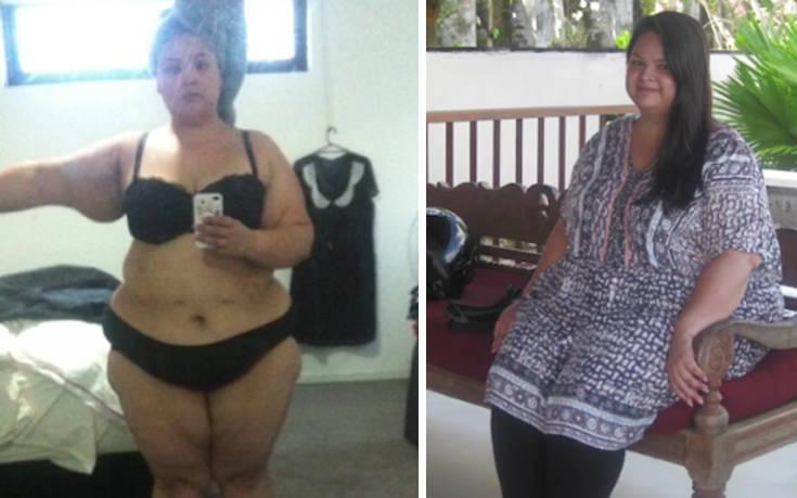 Η απόλυτη μεταμόρφωση μιας γυναίκας που ζύγιζε 131 κιλά