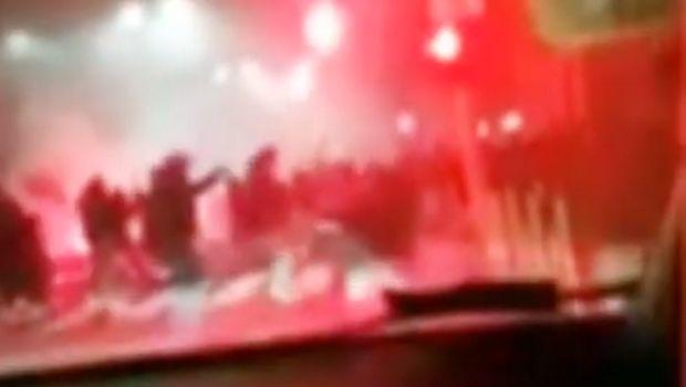 Ίντερ – Νάπολι: Σοκαριστικό video από τα επεισόδια των οπαδών