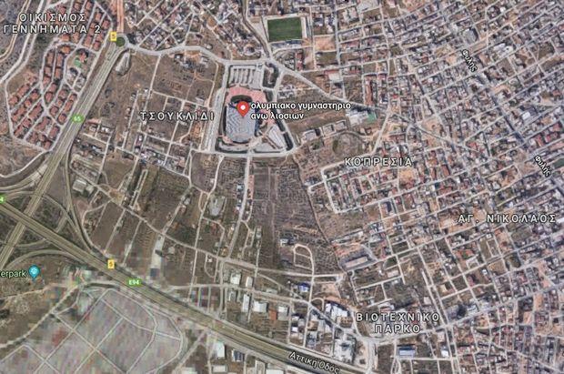 """Αυτοψία στο """"παλάτι"""" των Άνω Λιοσίων που θέλει να κάνει σπίτι της η ΚΑΕ ΑΕΚ"""