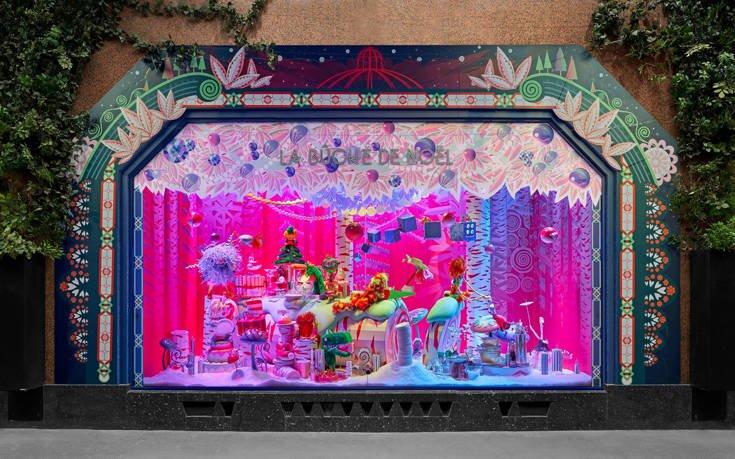 Οι πιο εντυπωσιακές χριστουγεννιάτικες βιτρίνες στον κόσμο