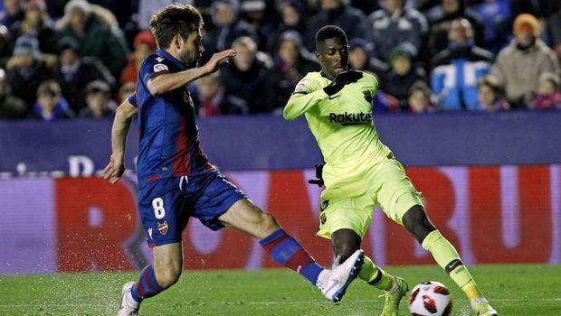 """Λεβάντε – Μπαρτσελόνα 2-1: Ήττα στο Copa del Rey οι """"μπλαουγκράνα"""""""