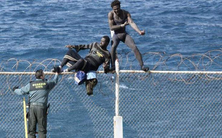 Η Ισπανία αυξάνει το ύψος του συνοριακού φράκτη στη Θέουτα