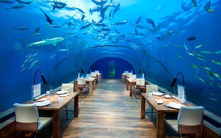 CNRD MaldivesRangali IthaaUnderseaRestaurant HR 1