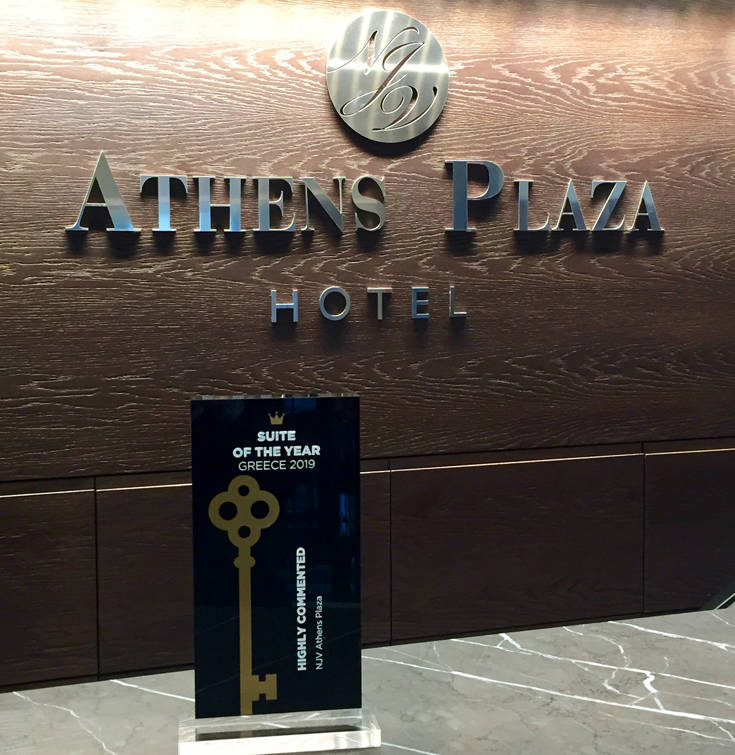 NJV Athens Plaza Highly Commented Award
