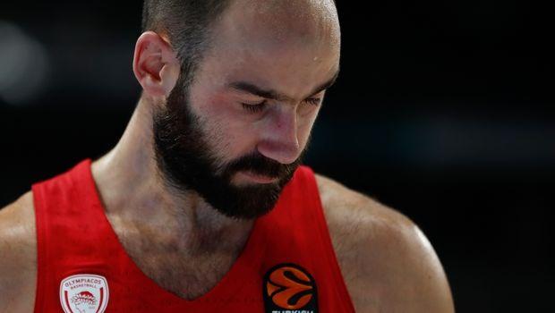 Ολυμπιακός: Χτύπησε στην περόνη ο Σπανούλης, αμφίβολος για την Εφές