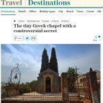 Αγιογραφίες σε ναό της Χίου του αποδίδουν χαρακτήρα… εξωτικό