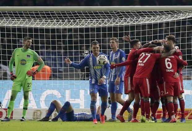 """Κύπελλο Γερμανίας: Ο Κομάν """"καθάρισε"""" για την Μπάγερν στην παράταση"""