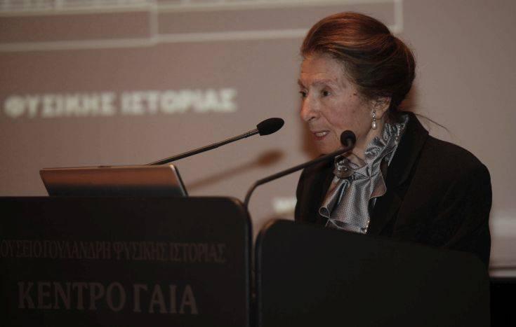 Έφυγε από τη ζωή η πρόεδρος του Μουσείου Φυσικής Ιστορίας Νίκη Γουλανδρή