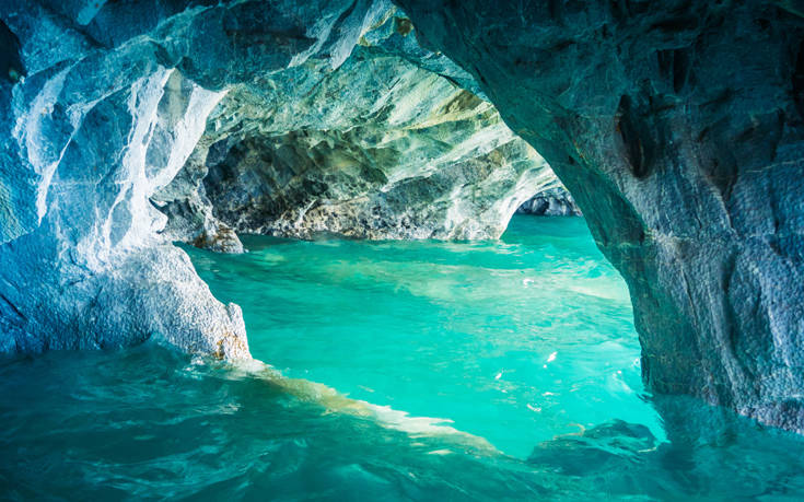 Ένα θαύμα της φύσης στη μακρινή Παταγονία