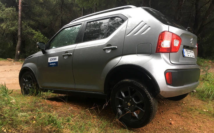 Οδηγούμε το Suzuki Ignis 1.2 Hybrid 4WD