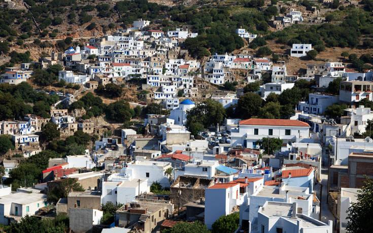 Το ορεινό χωριό της Νάξου που κλέβει τις εντυπώσεις
