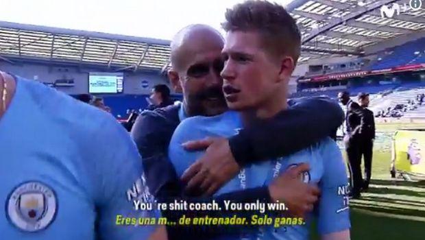 """Ντε Μπράινε σε Γκουαρδιόλα: """"Είσαι σκ@τ@ προπονητής"""""""