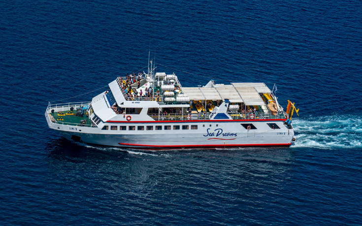 Ονειρική κρουαζιέρα στα νερά του Αιγαίου