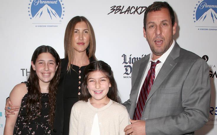 Ο Άνταμ Σάντλερ τραγούδησε Τέιλορ Σουίφτ μαζί με τις κόρες του