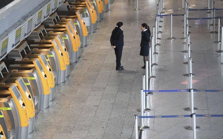 Ακυρώθηκαν 1.300 πτήσεις της Lufthansa