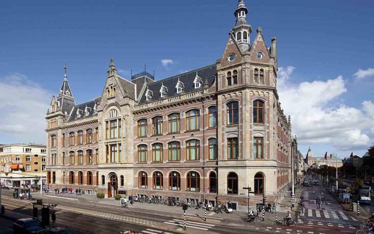 Το πεντάστερο ξενοδοχείο-στολίδι του Άμστερνταμ