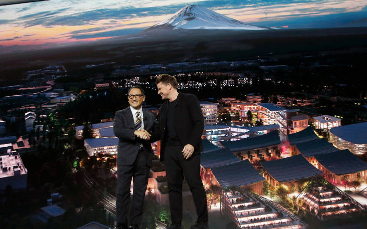 CES 2020: Τα σχέδια της Toyota να κατασκευάσει μια μίνι «πόλη του μέλλοντος»