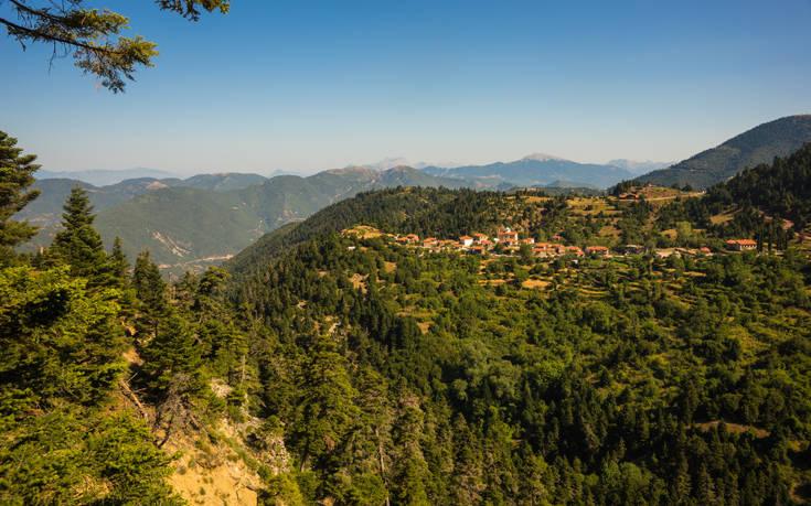 Ένα χωριό-όνειρο στην Ευρυτανία