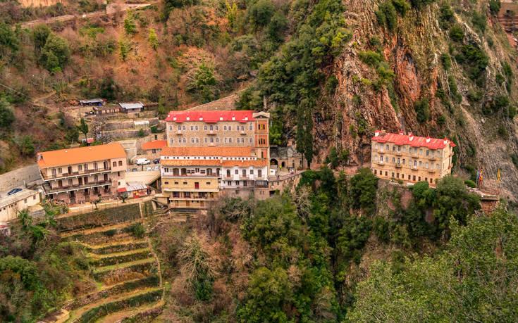 Το μοναστήρι όπου θεραπεύτηκε από τη φυματίωση ο Καραϊσκάκης