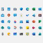 Τι συμβαίνει με τα νέα και πολύχρωμα εικονίδια των Windows 10